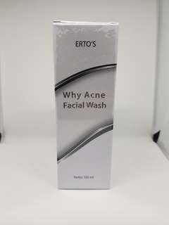 Why acne facial wash ertos