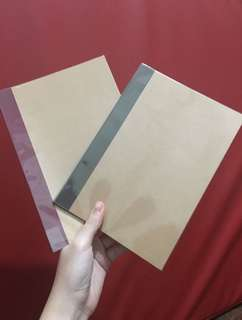 PREORDER Muji Notebooks