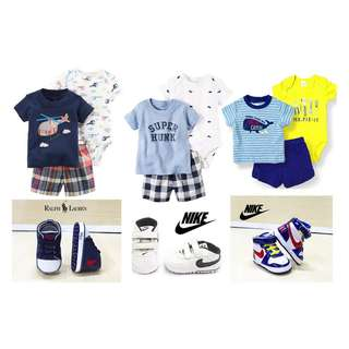 Carter Boy 3pc Outfit Set