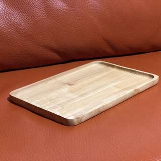 3 days rental - Large wooden display tray