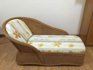 Rattan Lying Sofa Chair