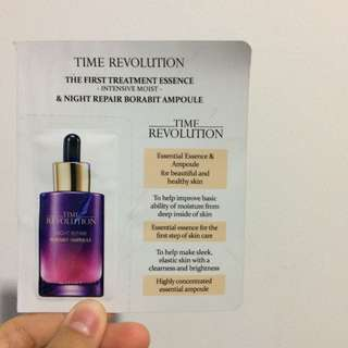 Missha - Time revolution essence sample