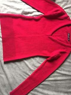 Knitted long sleeves (makapal, magandang klase)