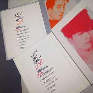 Seungri album (let's talk about love)