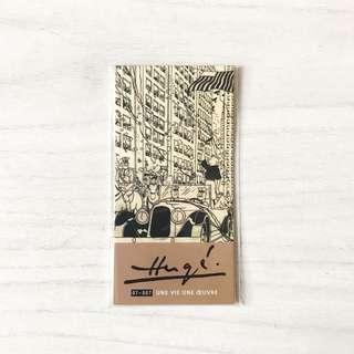 Authentic Tin Tin Magnetised Bookmark - brand new