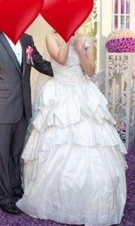大拖尾婚紗 wedding 晚裝 結婚 婚禮