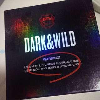 BTS ALBUM (Dark&Wild)
