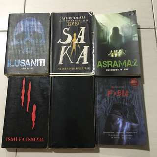 Novel Preloved Seram