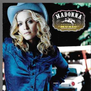 MY CD ALBUM - MADONNA / FREE DELIVERY / CD IS MADE IN SINGAPORE /BOX Q.