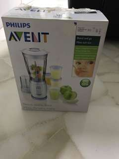 Moving out sales. BNIB Philips avent miniblender