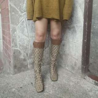 Authentic Gucci Knee Boots