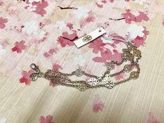Tory Burch multi strand logo bracelet 手鏈