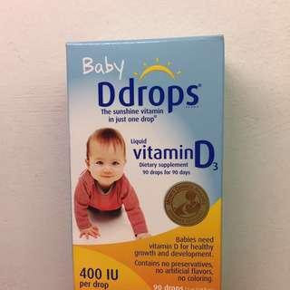 Baby d drops viatamin d