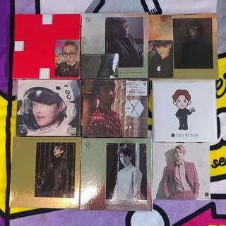 EXO CD 專輯 $60起