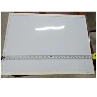 Whiteboard 58cmx43cm