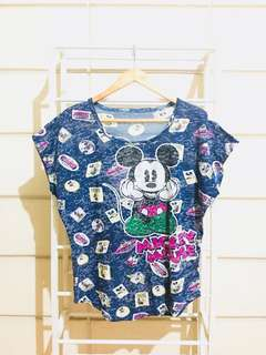 Mickey Mouse Character Shirt