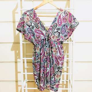 Paisley Swimsuit Cover Up
