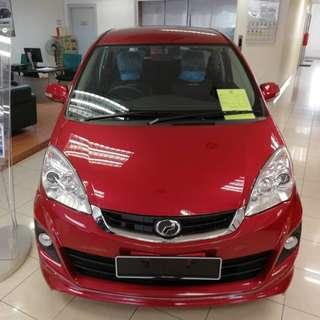 Perodua Alza Grab offer