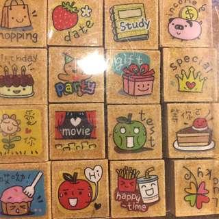 Cute mini stamps
