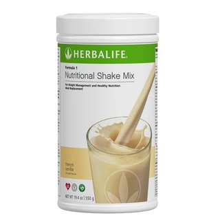 "Herbalife Formula 1  ""French Vanilla"""