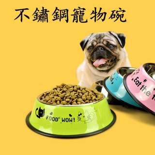 DP雜貨鋪 寵物用品 加厚不鏽鋼寵物碗/狗盆 XS-XL 黃金獵犬/拉布拉多/哈士奇/鬆獅