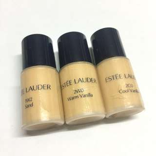 ✨Estee Lauder Double Wear Foundation Sample 持久防曬粉底 SPF10 PA++