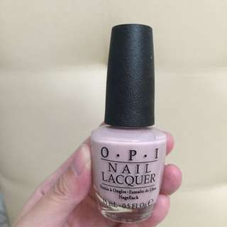 OPI dusty pink