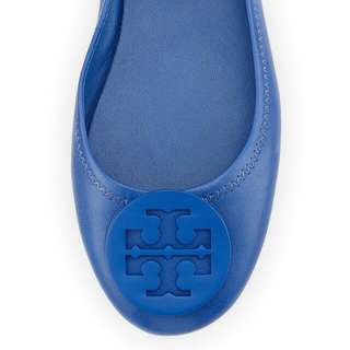 Auth tory burch minnie travel ballet flat leather💖✨✨