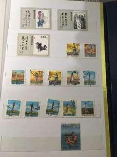 🚚 《老哥的集郵歲月》歷史郵票共16張(有各地燈塔,適合貼在集章本上)