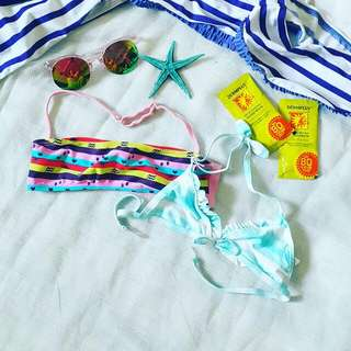 Swim suit top for babies