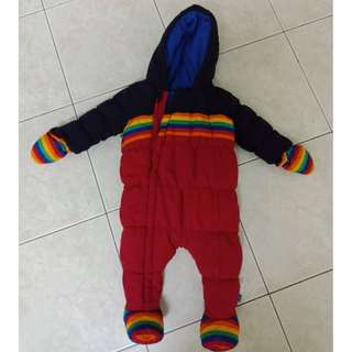 Mothercare Baby snowsuit 3-6m
