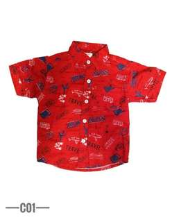 Carters Shirt Kids Baju Kemeja