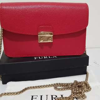 authentic Furla sling bag