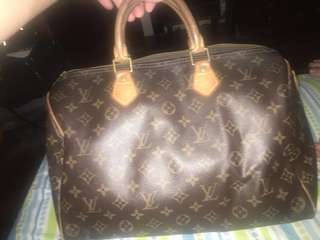 Louis vuitton authentic speedy 35 Rush
