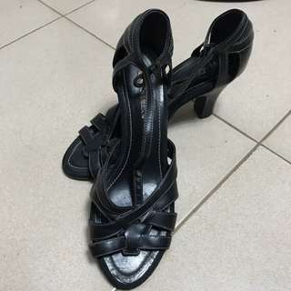 SALE! Aerosoles Leather Sandals with Heels