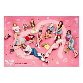 TWICE OFFICIAL MERCH LOTS FOR SALE