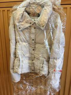 HOLLISTER 二手鋪棉中版束口保暖外套