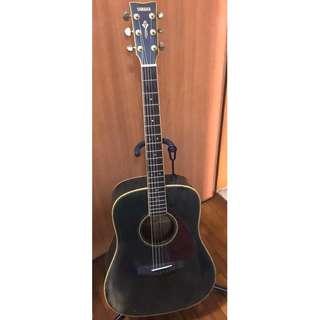 Yamaha DW8 BL [Taiwan Made: Highest End Vintage Yamaha Solid Top Guitar]