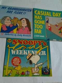 Snoopy / Cathy & Gilbert Comics