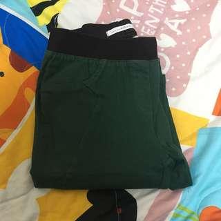 正韓長褲(墨綠色