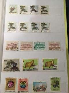 🚚 《老哥的集郵歲月》歷史郵票共19張(大中至正/自由廣場)