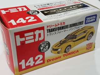 Takara Tomy Dream Tomica Transformers No. 142 (BNIB)