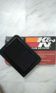 K&N Filter High-flow Air Filter For Toyota Vios NCP93