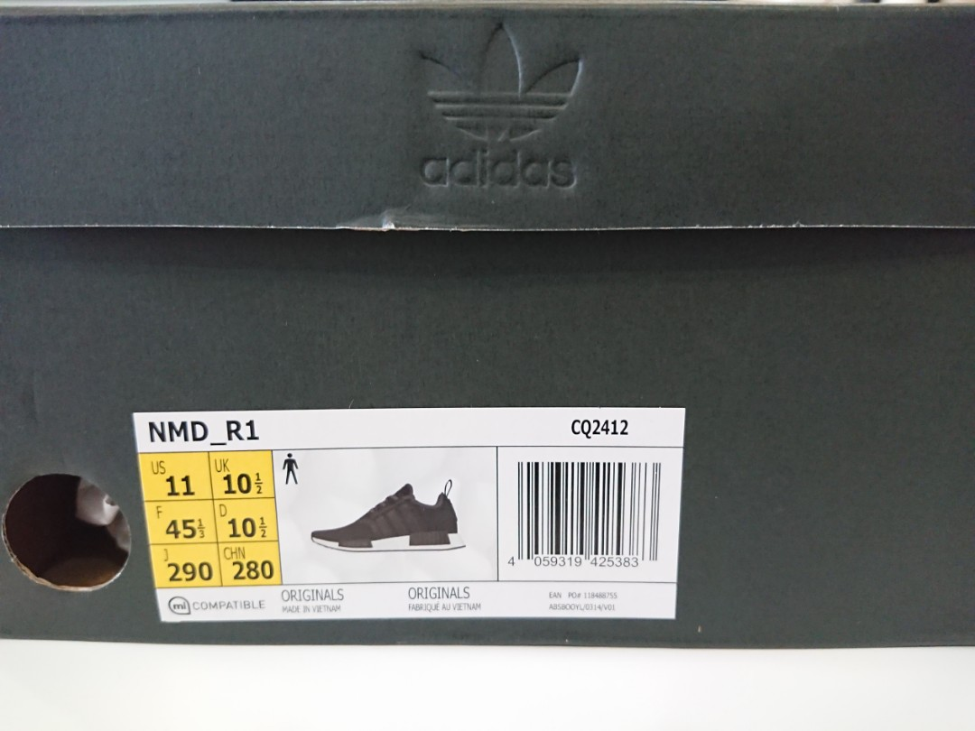 new styles 1385f 55fef Adidas NMD R1 CQ2412, Men's Fashion, Footwear on Carousell