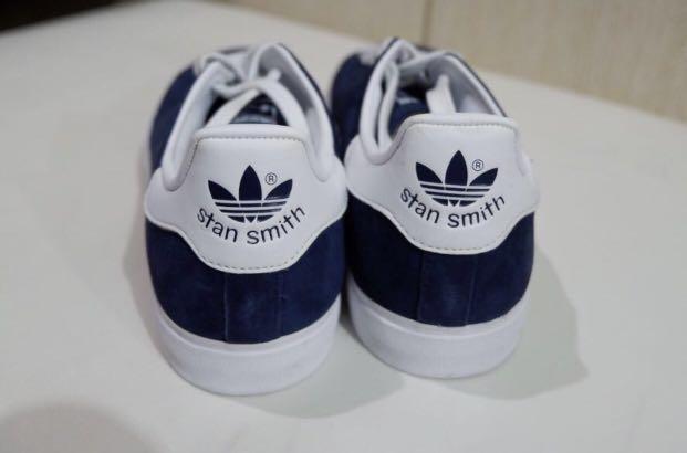 adidas originali stan smith azzurre, preloved la moda femminile