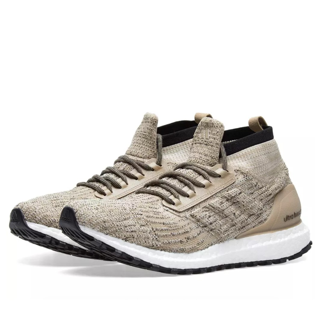 44d407cd6d14e ADIDAS ULTRA BOOST ALL TERRAIN LTD TRACE KHAKI   CLEAR BROWN
