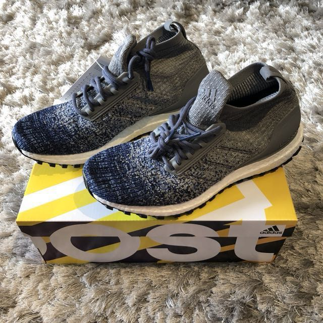 01ea4fc9c54d6 Adidas Ultra Boost ATR Mid Grey Noble Indigo UK8 US8.5