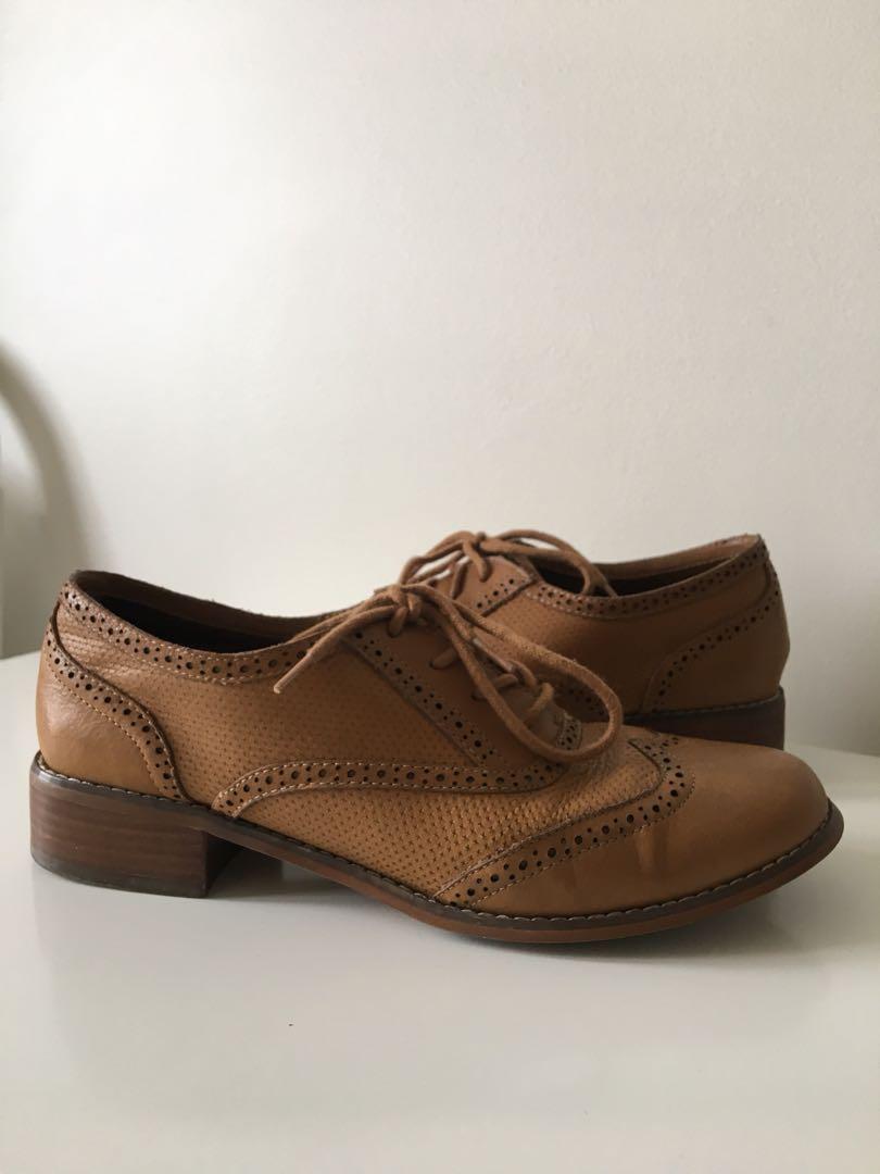 ALDO Brown Dress Shoes, Size 8