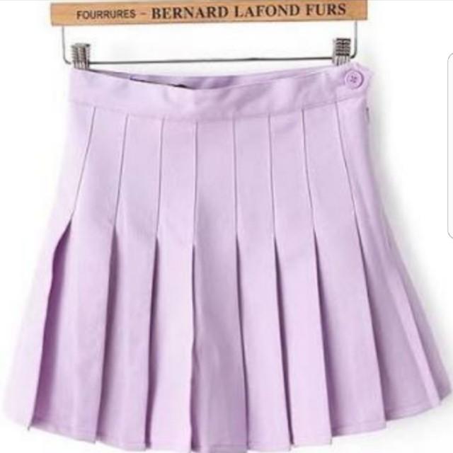 American apparel lilac tennis skirt