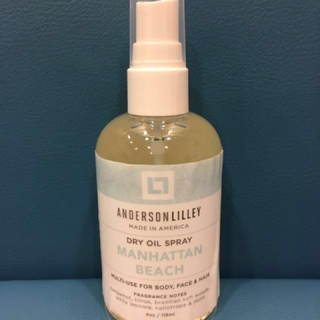 "Anderson Lilley Dry Oil in ""Manhattan Beach"""